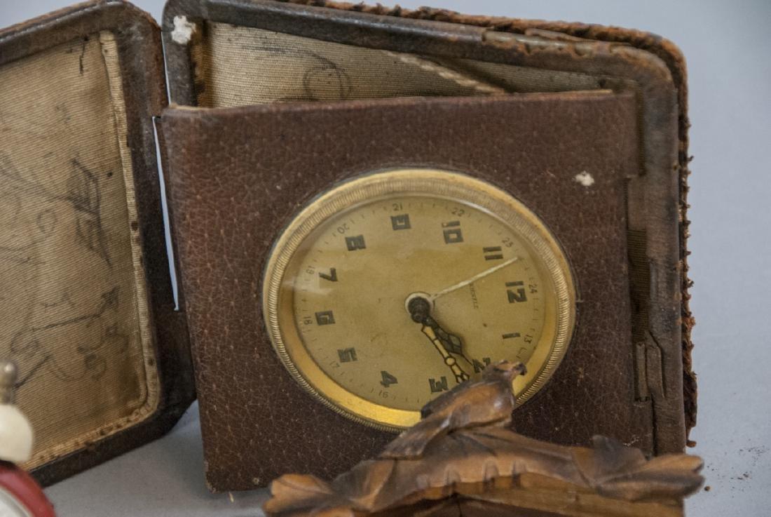 Assorted Lot Of Vintage & Antique Desk Clocks - 2