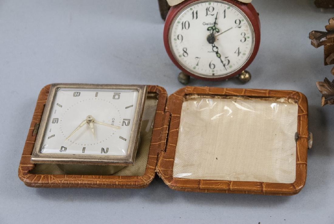 Assorted Lot Of Vintage & Antique Desk Clocks - 5