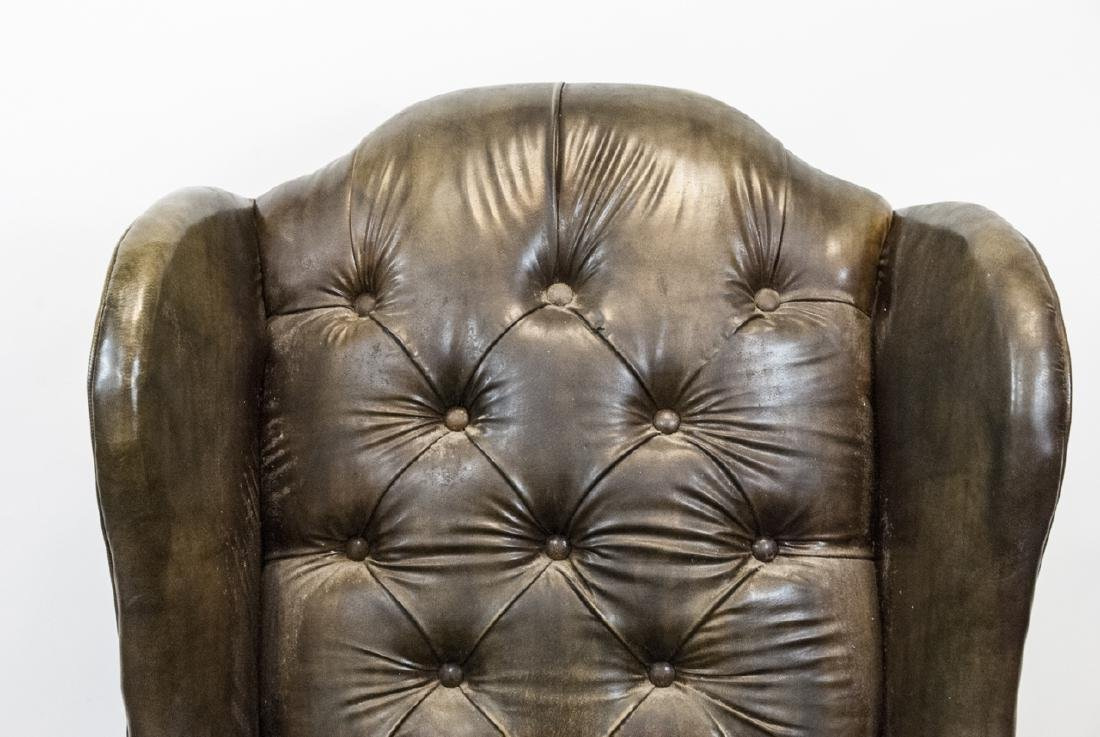 Antique Tufted Chesterfield Style Armchair - 2