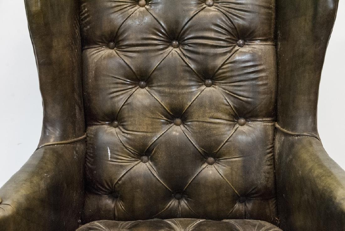 Antique Tufted Chesterfield Style Armchair - 3