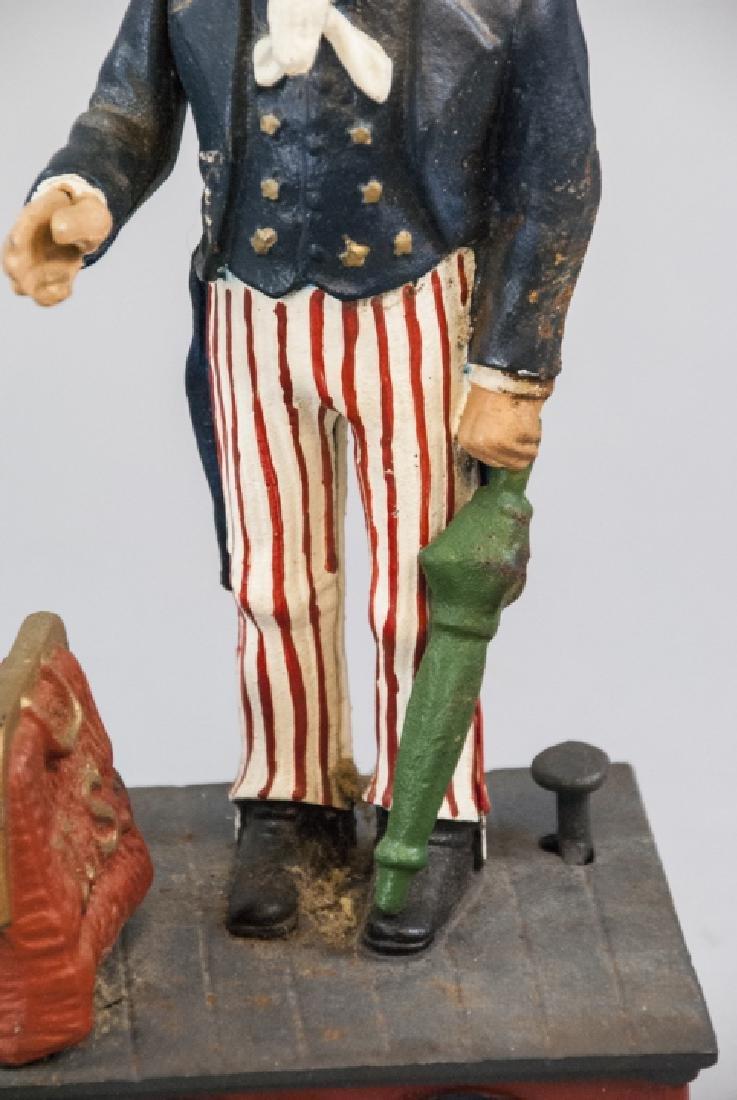 Vintage Uncle Sam Bank and Budget Bank Box - 2