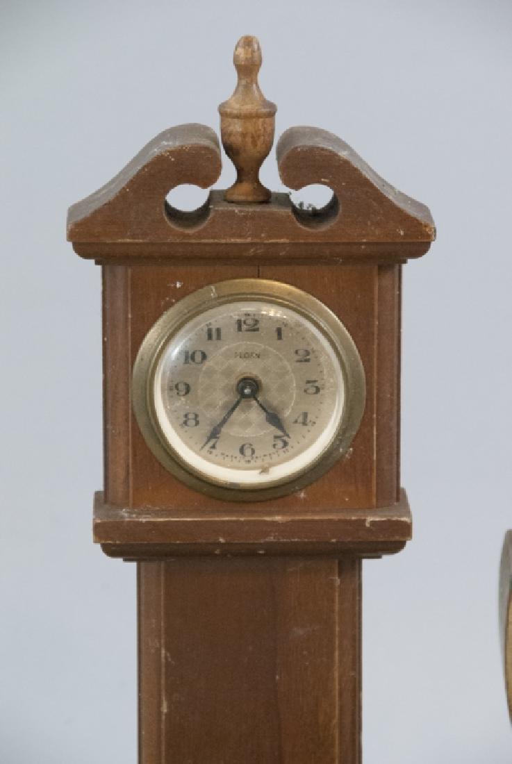 Lot Of Antique & Vintage Standing Desk Clocks - 6