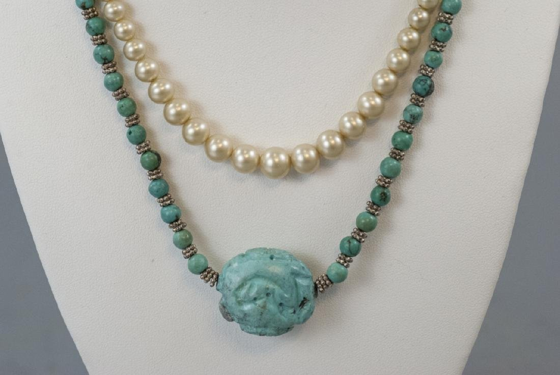 Vintage Costume Jewelry Necklaces & Charms - 2