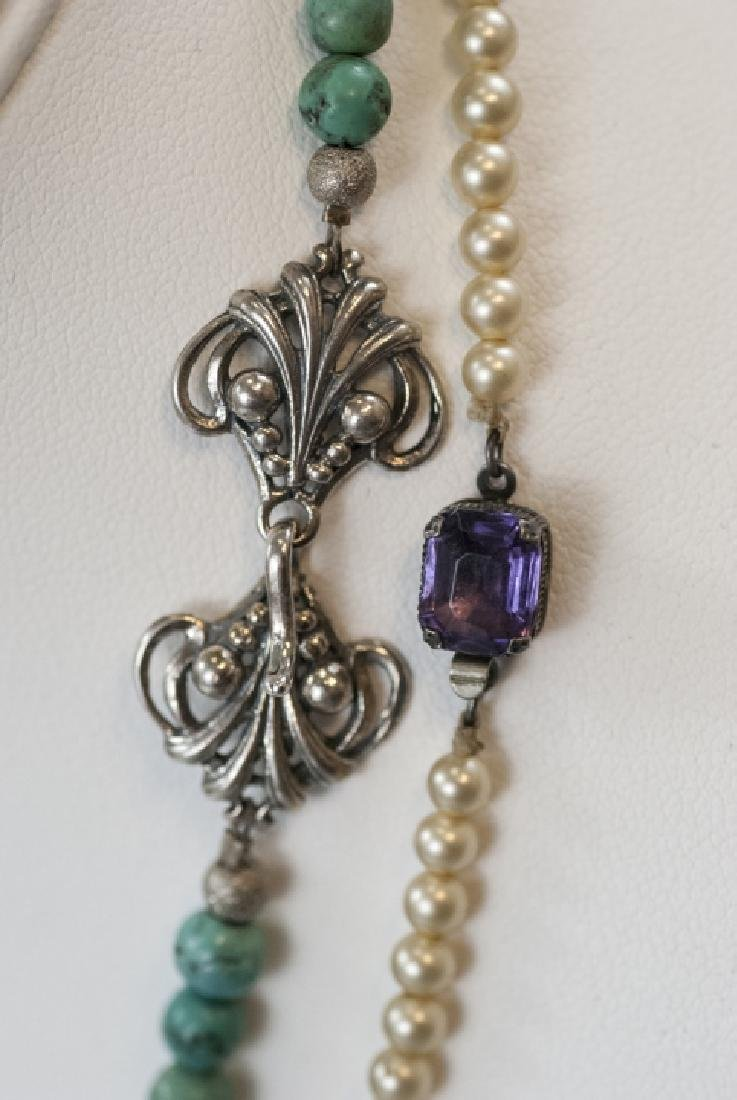 Vintage Costume Jewelry Necklaces & Charms - 5