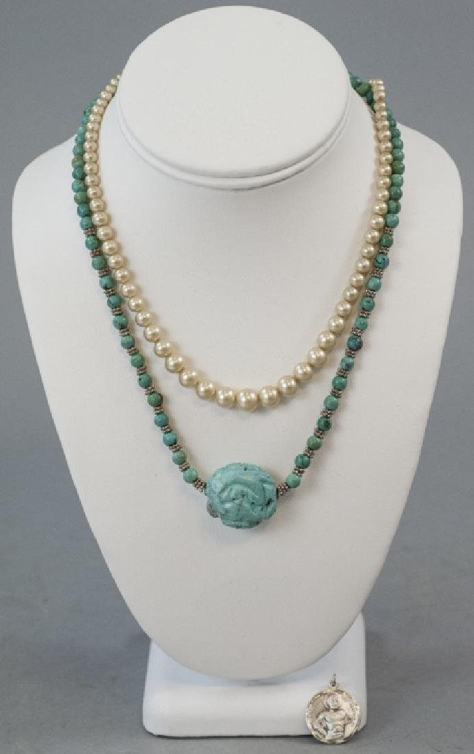 Vintage Costume Jewelry Necklaces & Charms - 6