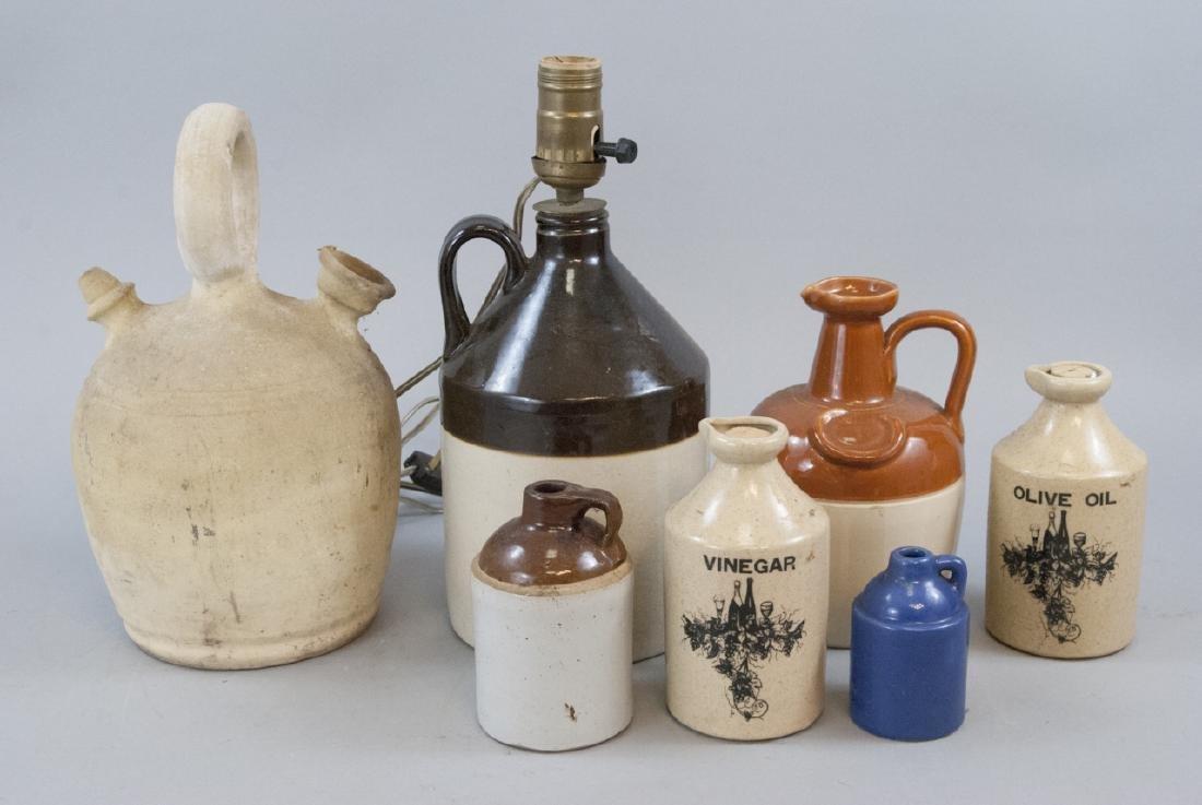 Vintage & Antique Assorted Stoneware Jugs