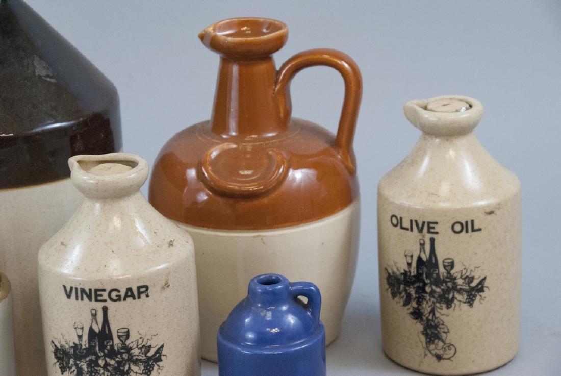 Vintage & Antique Assorted Stoneware Jugs - 3