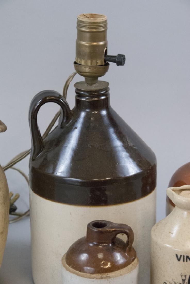 Vintage & Antique Assorted Stoneware Jugs - 4