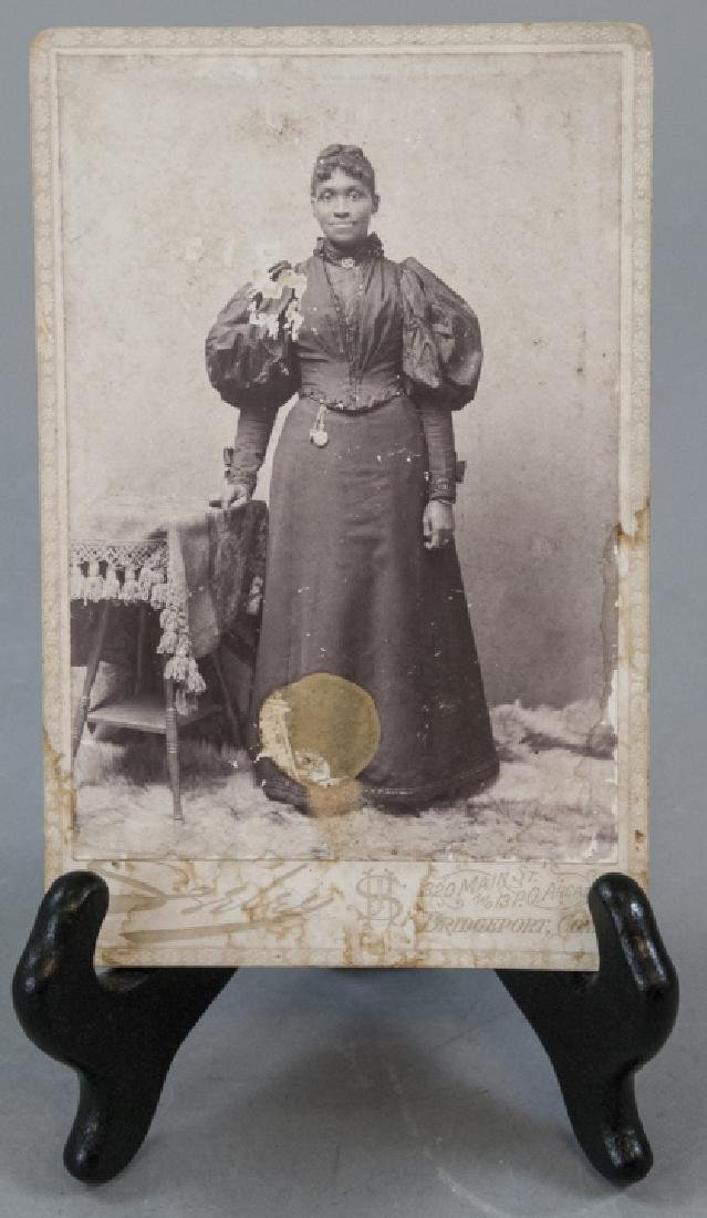 Antique 19th C Photograph African American Woman