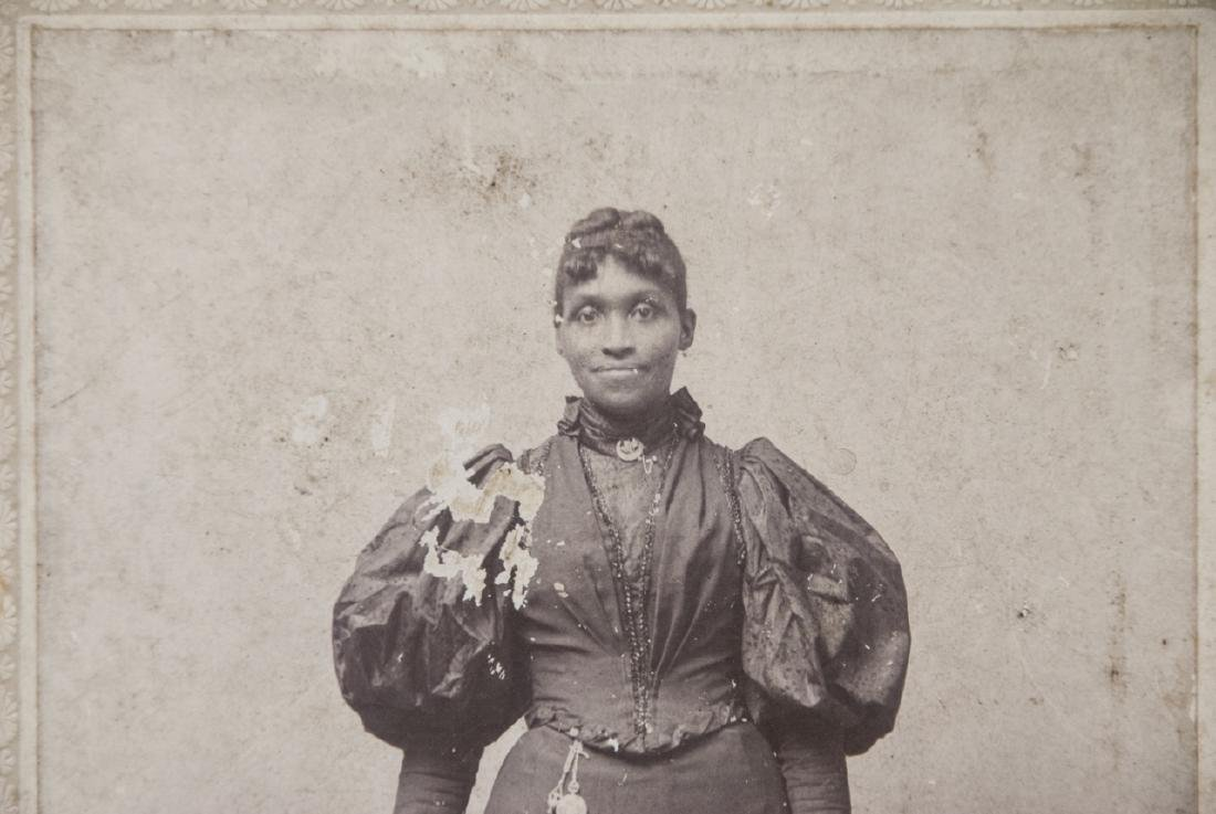 Antique 19th C Photograph African American Woman - 2