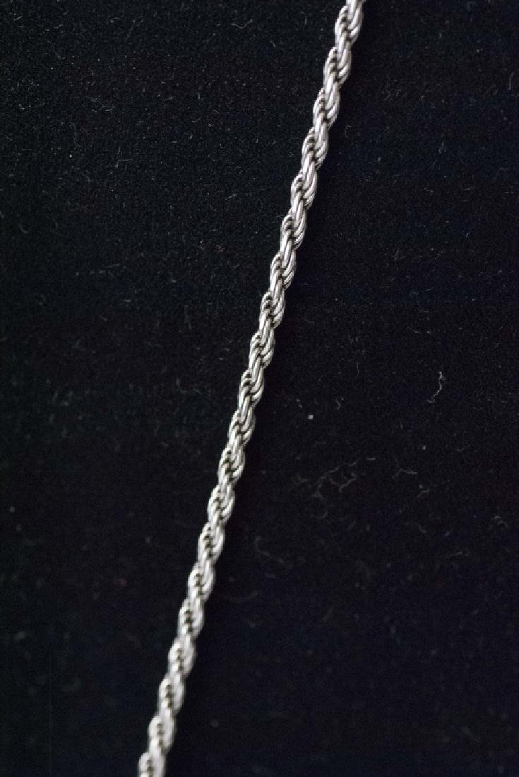 2 Sterling Silver Necklaces & 3 Pendants - 2
