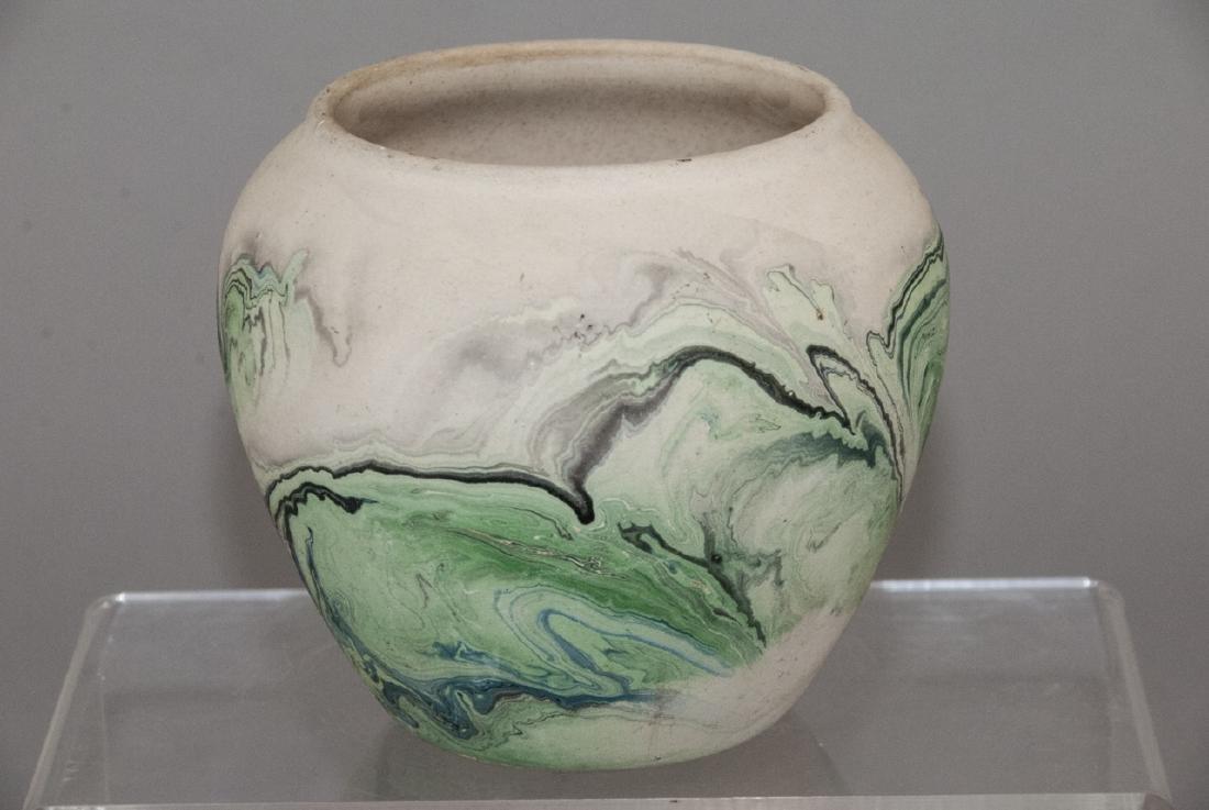 Vintage Nemadji Pottery Pot - 2