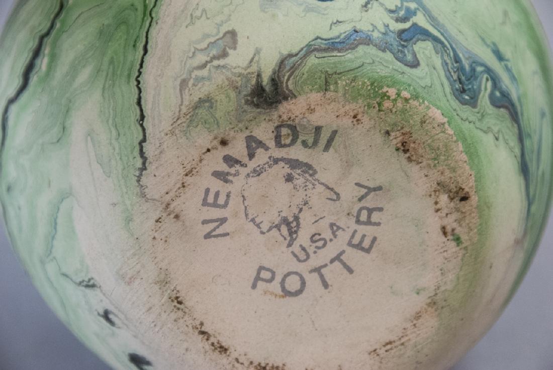 Vintage Nemadji Pottery Pot - 3