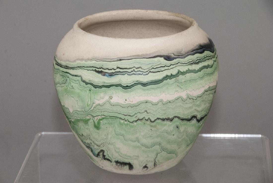 Vintage Nemadji Pottery Pot - 4