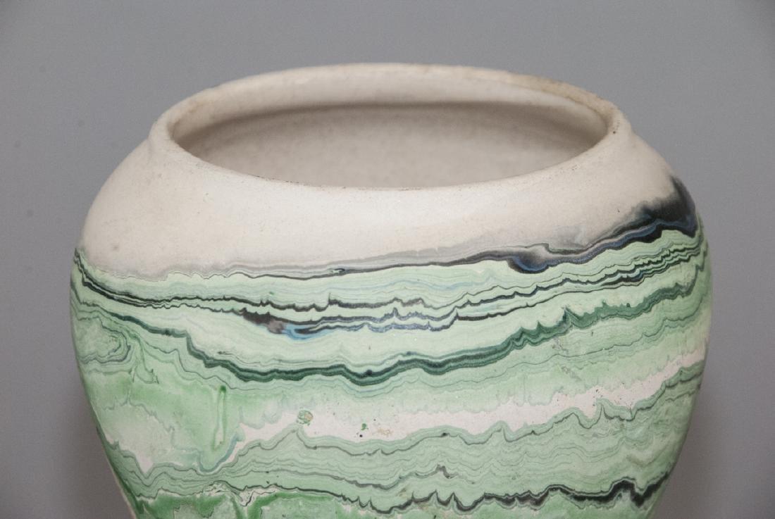 Vintage Nemadji Pottery Pot - 5