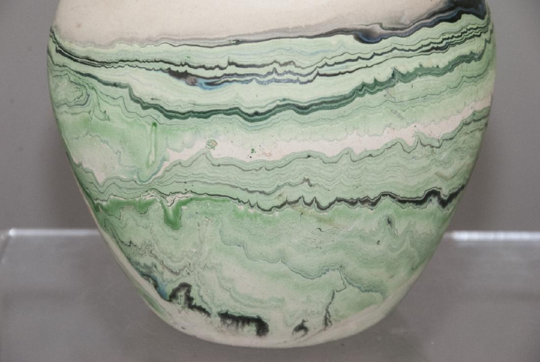 Vintage Nemadji Pottery Pot - 6