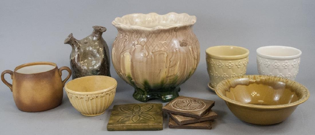 Lot of Vintage American Pottery Pieces