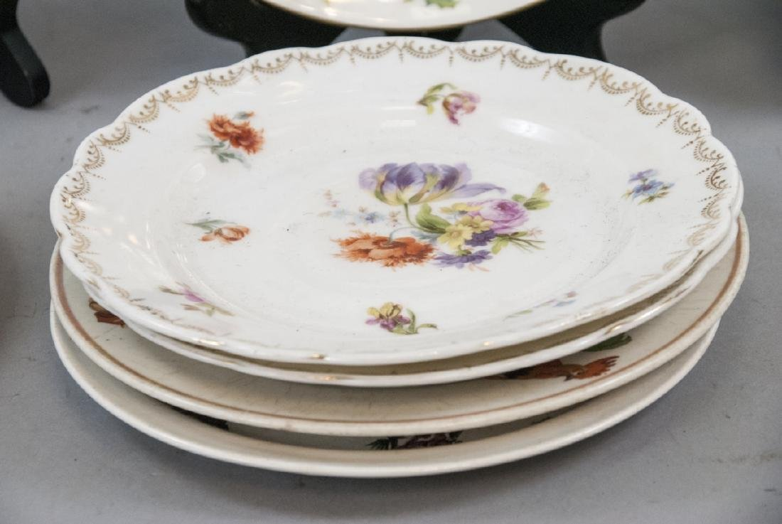 Collection of Vintage Porcelain Lunch Plates - 2