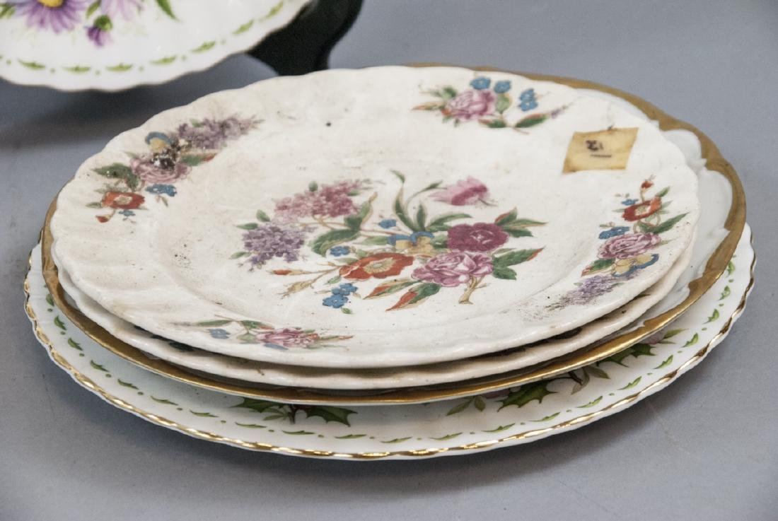Collection of Vintage Porcelain Lunch Plates - 3