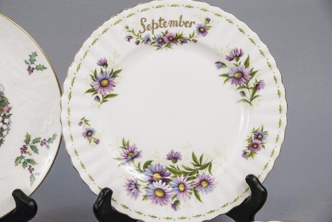 Collection of Vintage Porcelain Lunch Plates - 4