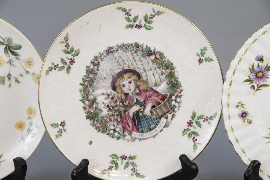 Collection of Vintage Porcelain Lunch Plates - 5
