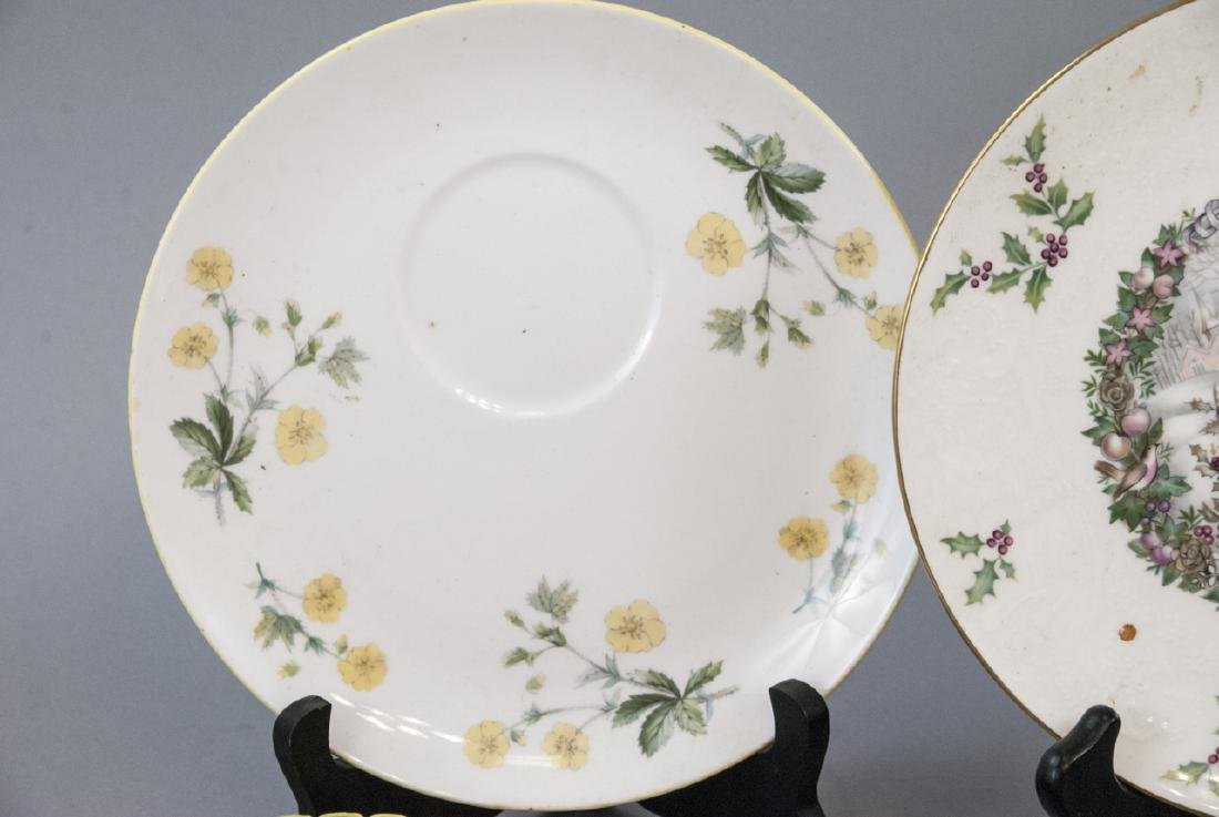Collection of Vintage Porcelain Lunch Plates - 6