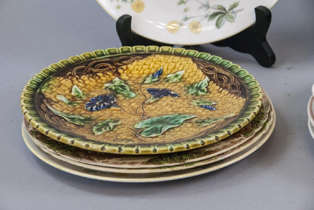 Collection of Vintage Porcelain Lunch Plates - 7