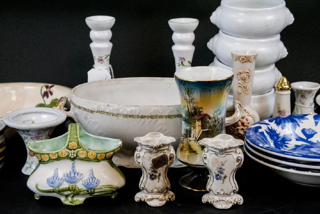 Box Lot of China & Porcelain Variety of Makers - 2