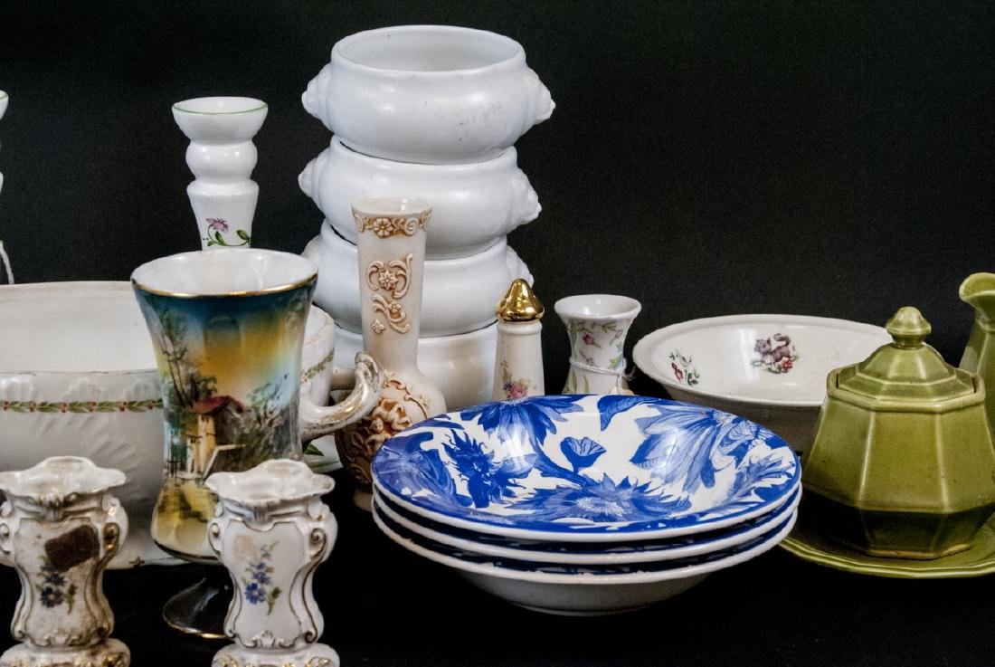 Box Lot of China & Porcelain Variety of Makers - 3