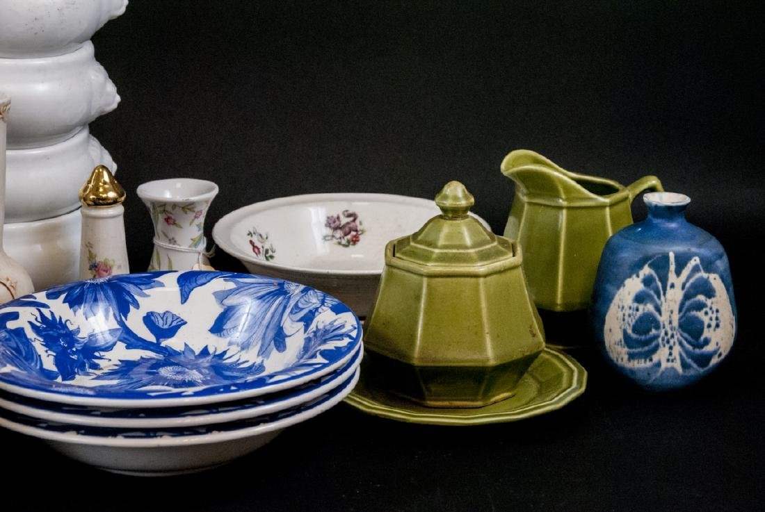 Box Lot of China & Porcelain Variety of Makers - 4