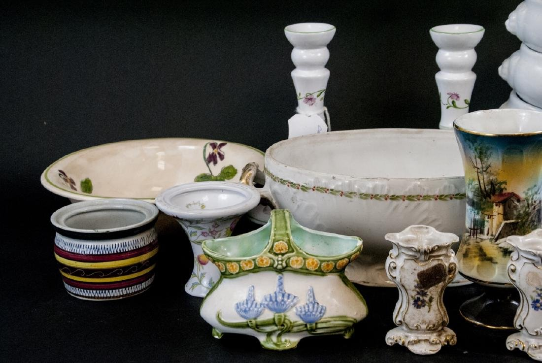 Box Lot of China & Porcelain Variety of Makers - 5