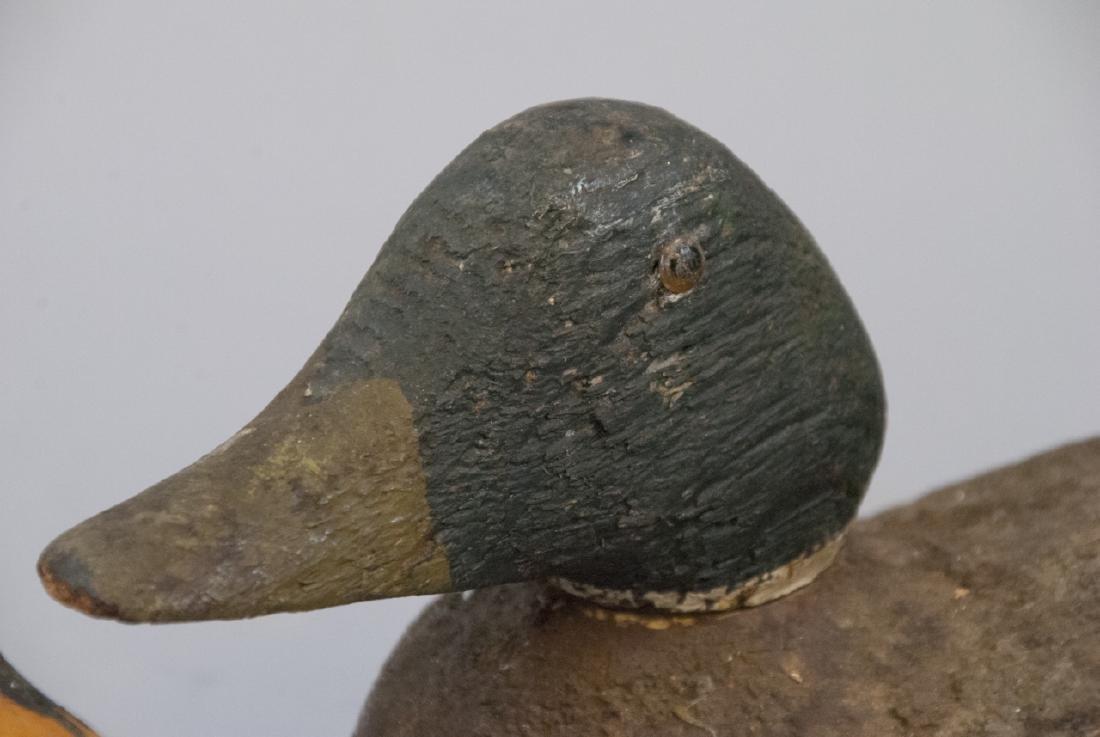 Vintage Wood & Plastic Duck Decoys / Statues - 2