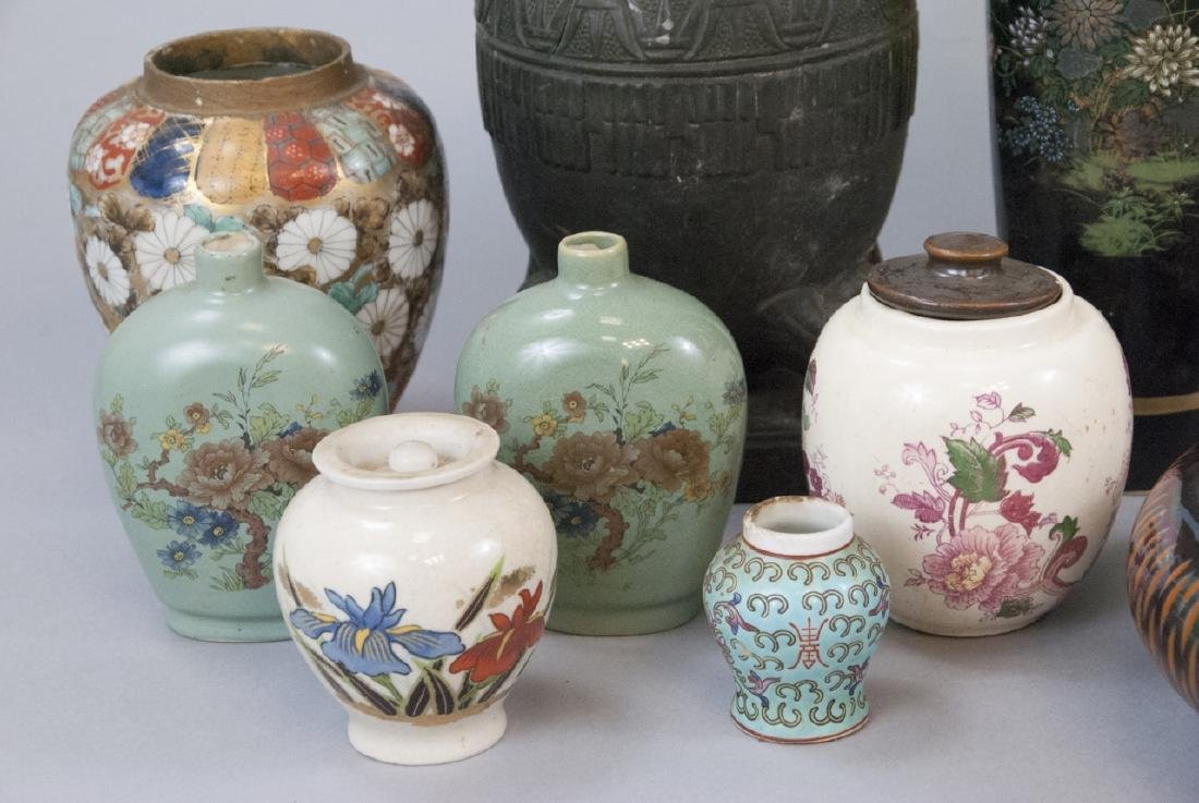 Lot Vintage Asian Porcelain Variety of Styles - 6