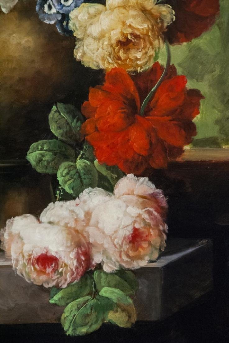 Oil on Canvas, Floral Still Life, Painting - 3
