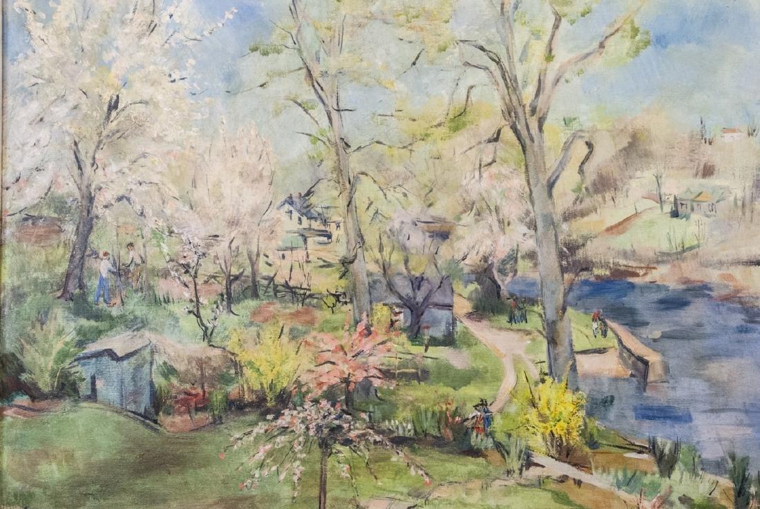 Grace Huntley Pugh  (1912 - 2010) Oil Painting - 2