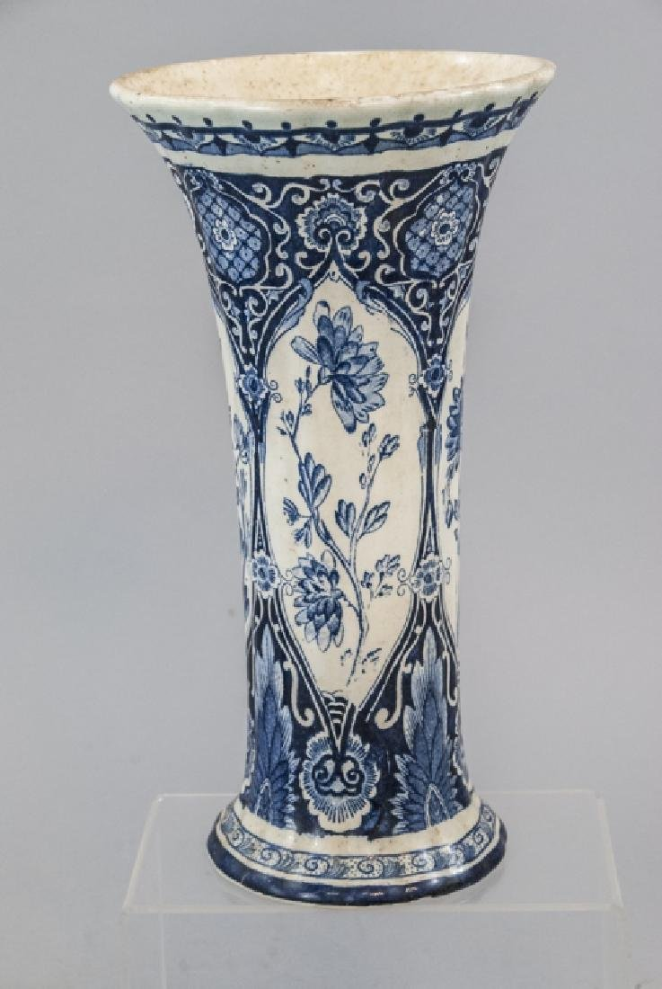 Petrus Regout Maastricht Delft  Antique Vase - 5