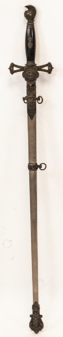 19th Century Fraternal/Masonic Sword - 5