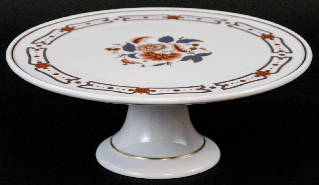 Richard Ginori Italy Porcelain Pedestal Cake Stand