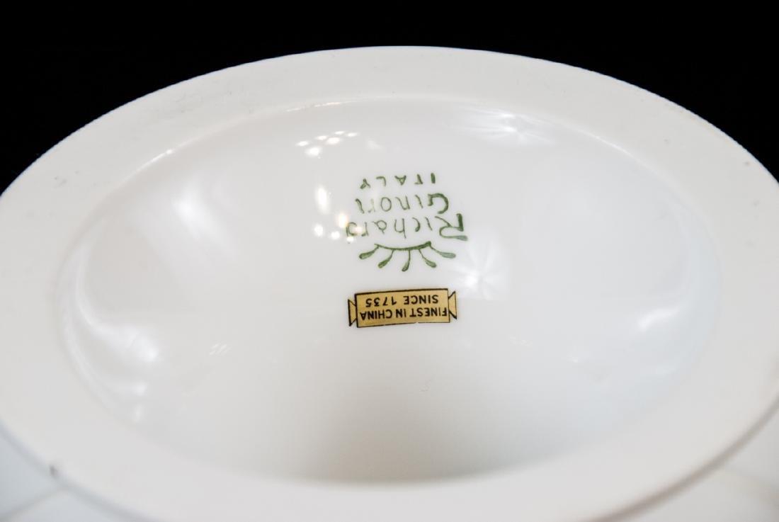 Richard Ginori Italy Porcelain Pedestal Cake Stand - 2