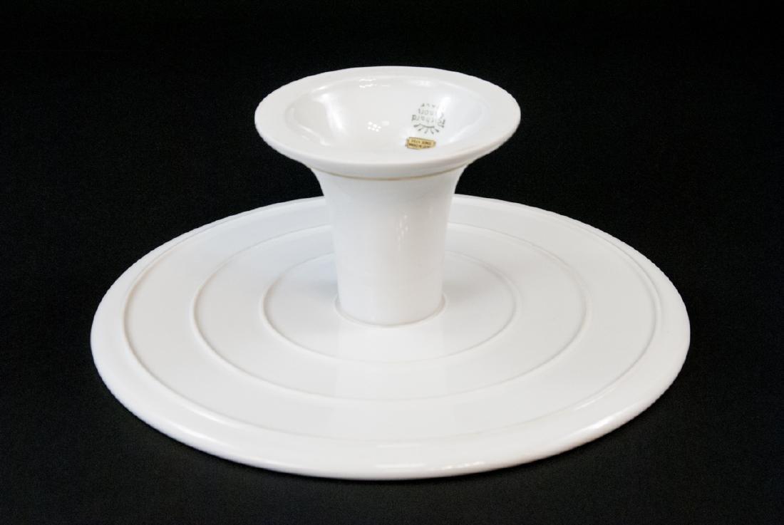 Richard Ginori Italy Porcelain Pedestal Cake Stand - 5