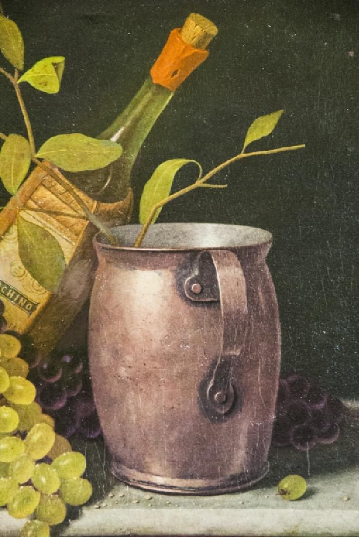 William Harnett Print On Canvas Still Life - 2