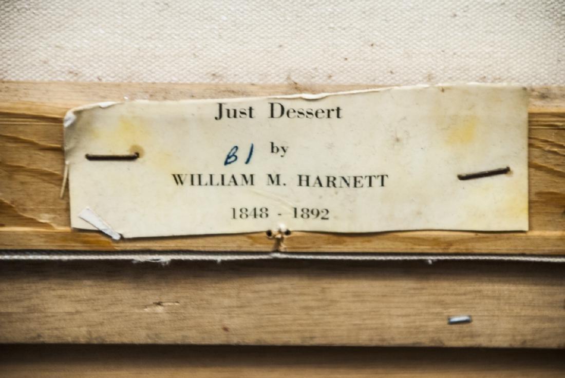 William Harnett Print On Canvas Still Life - 4