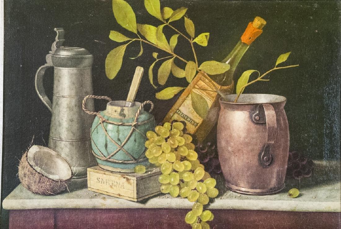 William Harnett Print On Canvas Still Life - 5