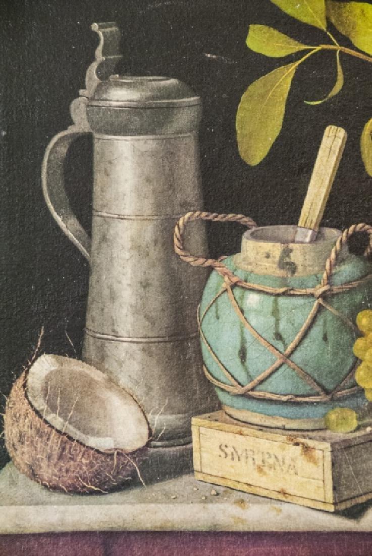 William Harnett Print On Canvas Still Life - 6