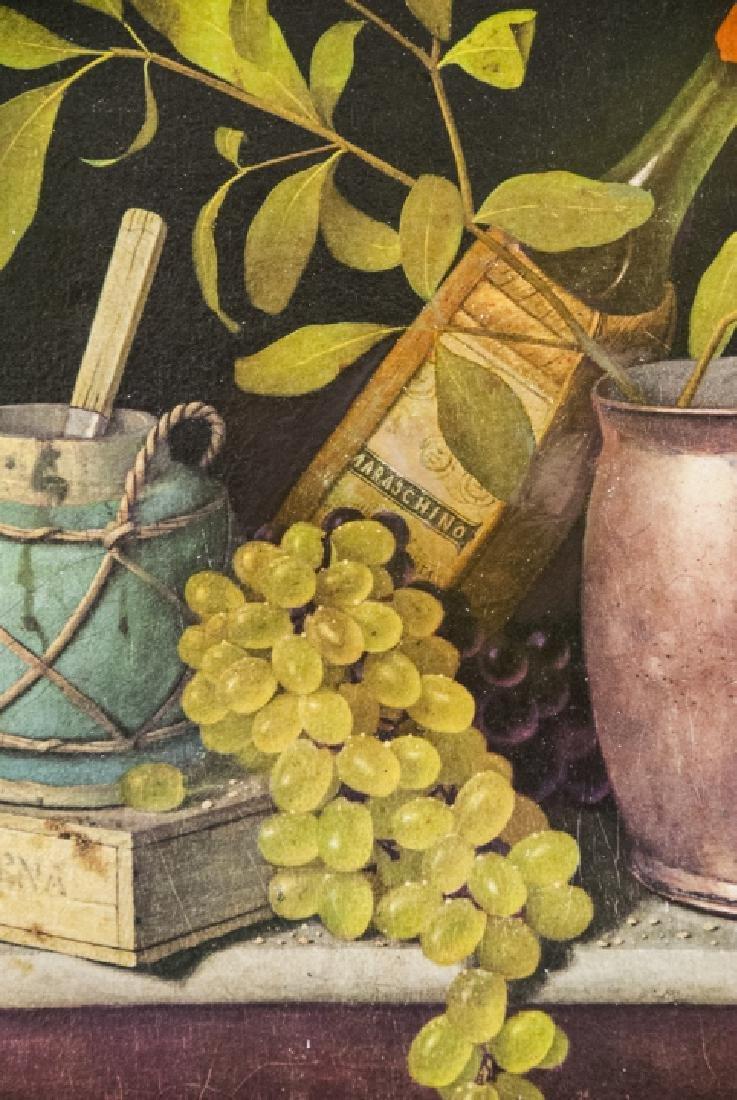 William Harnett Print On Canvas Still Life - 7