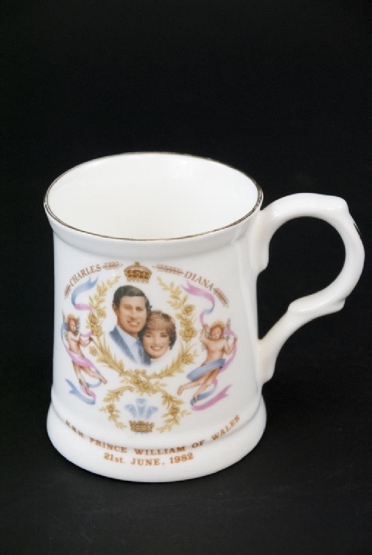Pair Of Prince William Of  Wales Teacup and Spoon - 6