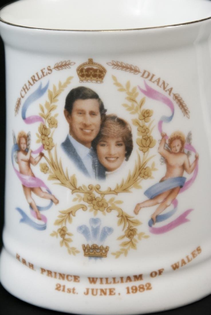 Pair Of Prince William Of  Wales Teacup and Spoon - 7