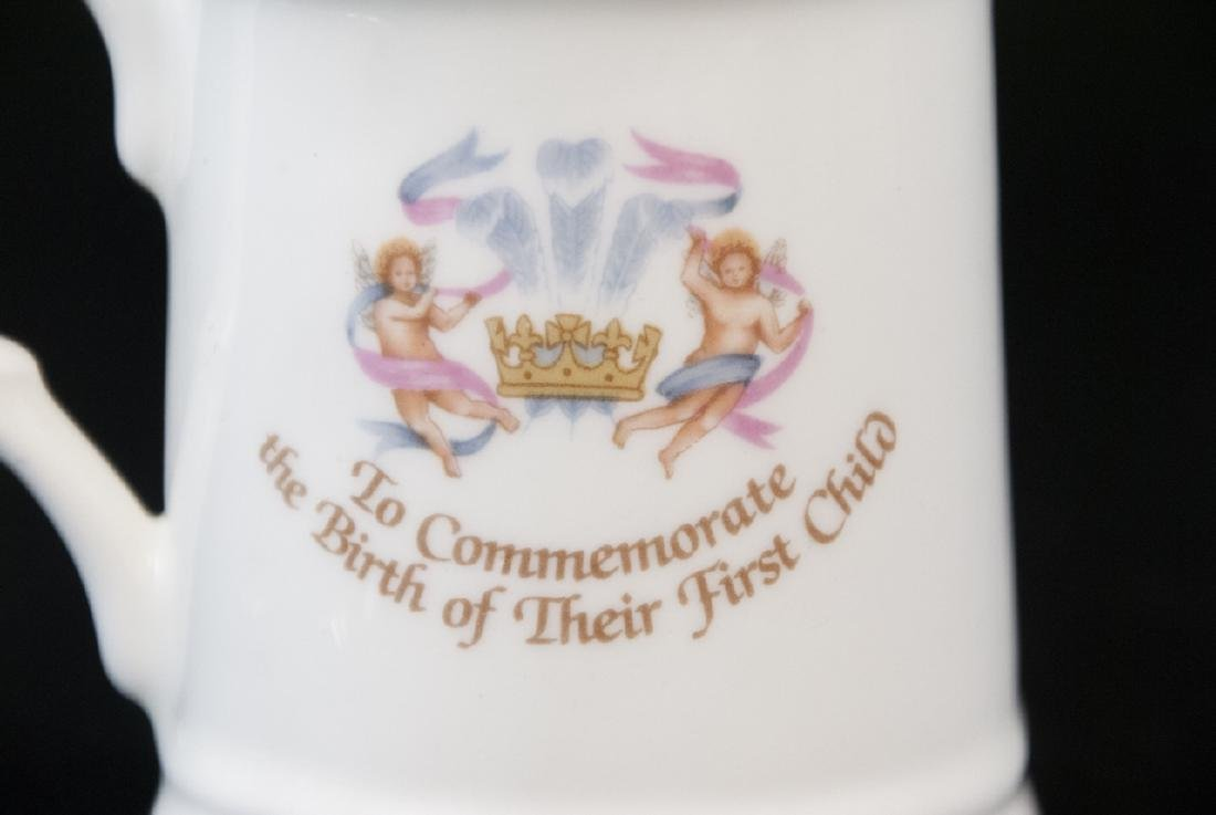 Pair Of Prince William Of  Wales Teacup and Spoon - 8