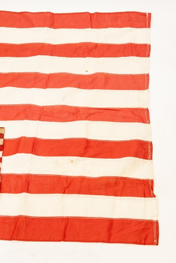 Pair Of Vintage American Flags Large & Small - 3