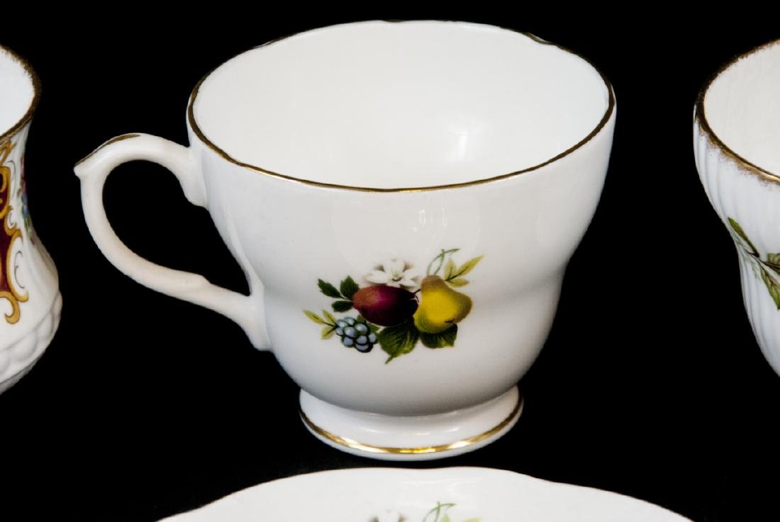Lot Of Assorted Tea Cups and Saucers - 10